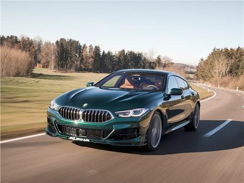 В Alpina покзали свое видение заряженного седана BMW 8-серии