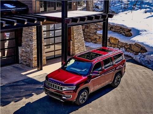 Предпросмотр jeep wagoneer (2022) вид сверху