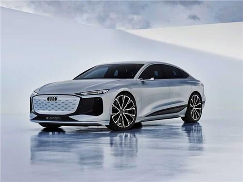 Новость про Audi - Audi A6 e-tron Concept (2021)