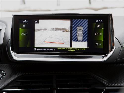 Peugeot 2008 (2020) монитор