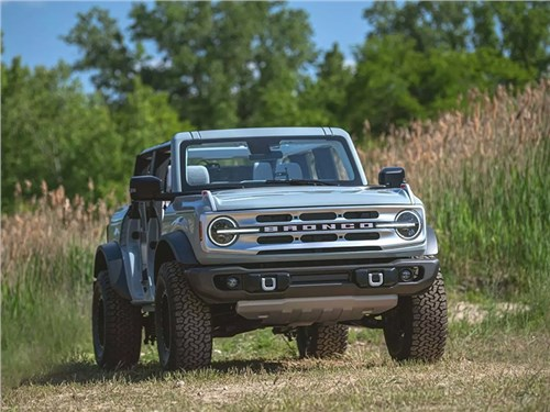 Новость про Ford - Ford Bronco (2021)
