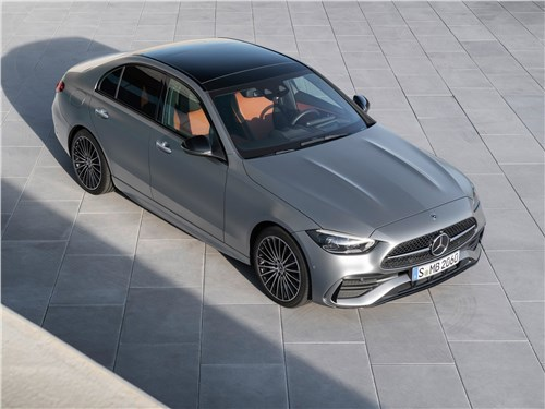 Mercedes-Benz C-Class (2022) вид сверху