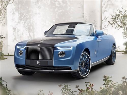 Rolls-Royce представил уникальный кабриолет