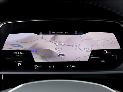 Audi e-tron Sportback (2021) приборная панель