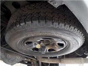 Chevrolet Trailblazer 2012 запасное колесо