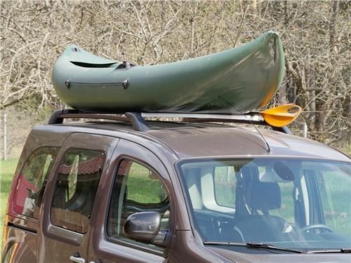 Предпросмотр renault kangoo 2014 багажник на крыше