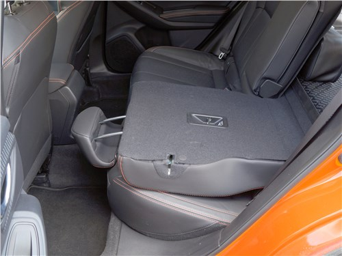 Subaru XV 2018 задний диван