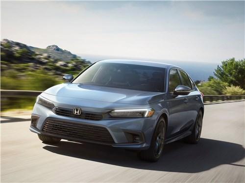 Honda Civic Sedan (2022) вид спереди