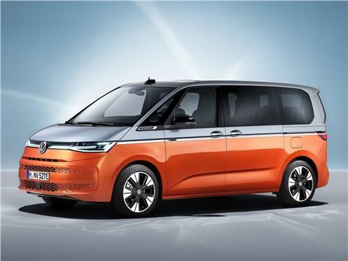 Volkswagen Multivan (2022) вид сбоку