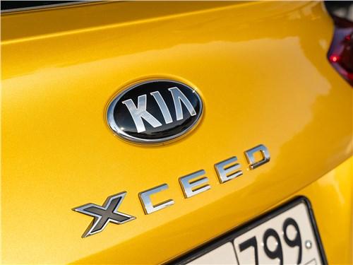 Kia XCeed (2020) шильдики