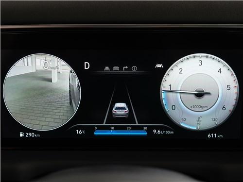 Hyundai Tucson (2021) приборная панель