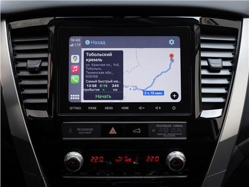 Mitsubishi Pajero Sport (2020) центральная консоль