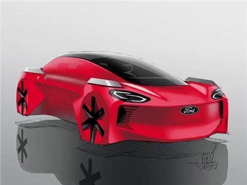 Новость про Ford - В Ford представили «детский» концепт-кар