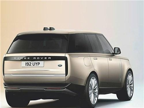 Если не мелочиться: в схватке за звание царя горы сошлись «технарь» BMW X7, брутальный Lexus LX и «аристократ» Range Rover Range Rover - Land Rover Range Rover (2021) вид сзади