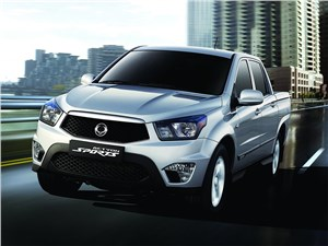 Новость про SsangYong Actyon Sports - Ssang Yong Action Sports 2013