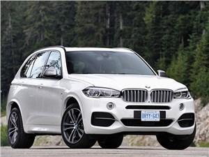BMW представил дизельный кроссовер X5 М50d нового поколения