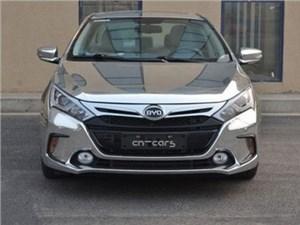 Китайская компания BYD готовит к премьере гибридный автомобиль Qin