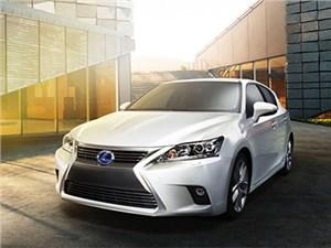 Lexus покажет обновленный CT 200h в Гуанчжоу