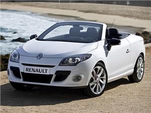 Renault Megane в кузове кабриолет представлен официально