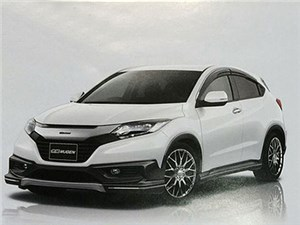 Новый компактный кроссовер Honda Vezel получит серийную тюнингованную версию от Mugen