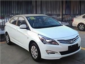 Китайская версия Hyundai Solaris обновлена