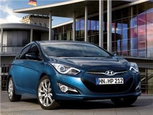 На российский рынок выходит седан Hyundai i40 в новой модификации