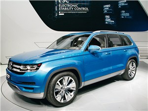 Volkswagen Cross-Blue