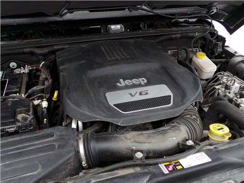 Предпросмотр jeep wrangler 2007 двигатель