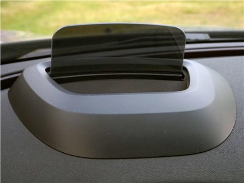 Mini Clubman Cooper S 2016 проекционный дисплей