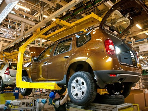 Новость про Renault - Renault наращивает экспорт из России