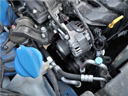 Hyundai Creta 2016 моторный отсек