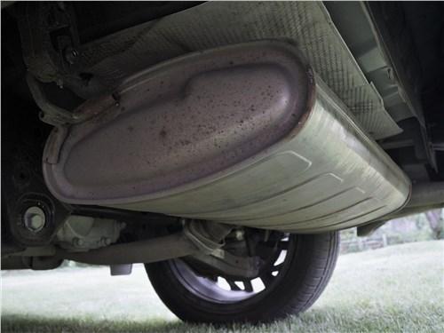 Hyundai Tucson 2019 глушитель