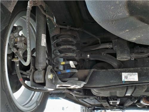 Hyundai Solaris 2020 задняя подвеска