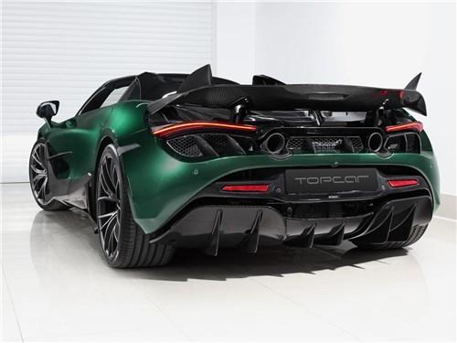 TopCar | McLaren 720S Spyder вид сзади