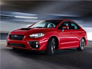 Новое поколение спортивного седана Subaru WRX будет продаваться по цене от 1 599 000 рублей
