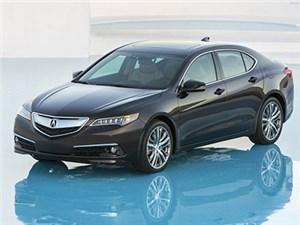 Стартовало серийное производство нового седана Acura TLX