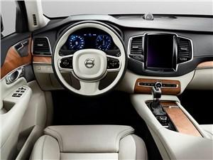 Новый Volvo XC90 - Volvo XC90 2015 интерьер