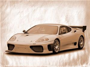 История Ferrari. Ferrari 360 GTC
