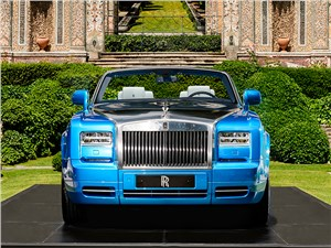 Предпросмотр rolls-royce phantom drophead coupe waterspeed collection 2014 вид спереди