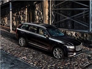 Дизельный марш (V70, XC70, XC90 - 2.4 D5) XC90 - Volvo XC90 2015 вид спереди сверху