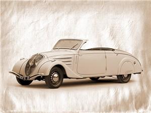 Кабриолет Peugeot 402 Eclipse 1937 г.