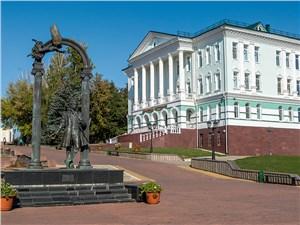 Памятник Пушкину на Фонтанном спуске