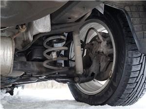Chevrolet Cruze SW 2013 задняя подвеска