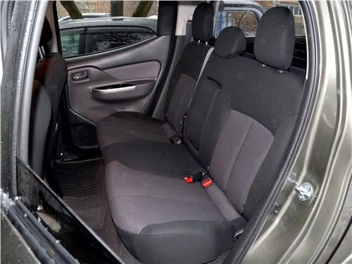 Fiat Fullback 2016 задний диван