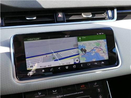 Land Rover Range Rover Evoque 2020 монитор