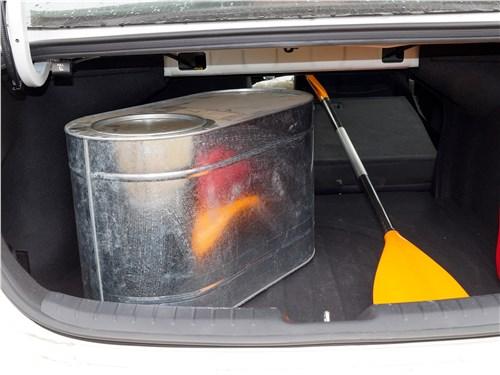 Kia Cerato 2019 багажное отделение
