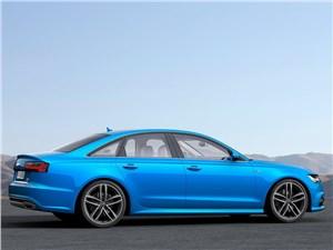 Альтернатива внедорожникам (Audi A6 Allroad Quattro, Skoda Octavia Scout, Subaru Outback, Volvo XC 70) A6 - Audi A6 2015 вид сбоку