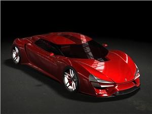 Предпросмотр trion supercars nemesis 2015 вид сверху красный