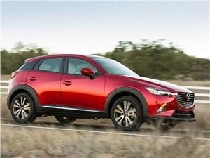 Mazda CX-3 2015 вид спереди сбоку