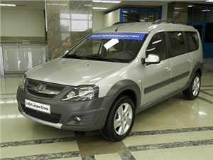 Новость про Lada Largus Cross - Lada Largus Cross